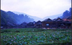 【黎平图片】肇兴侗寨,深山中被惊扰的睡美人