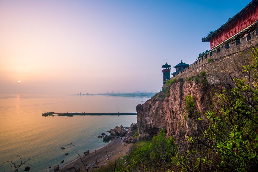 【蓬莱】仙境蓬莱阁,朝看黄海日出,暮观渤海日落_游记