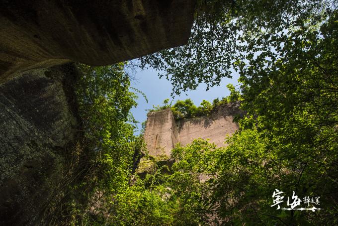 道士岩(伍山石窟风景区)