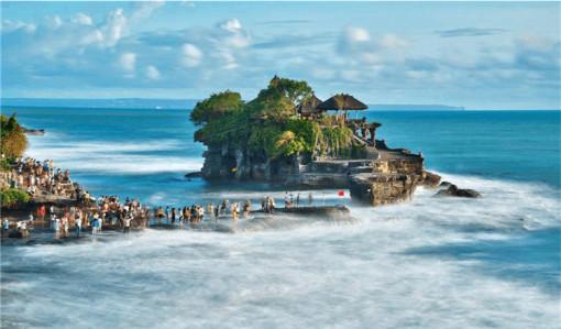 广州直飞巴厘岛4晚5天半自助游(皇家彼特曼哈-空中花园下午茶 蓝梦岛