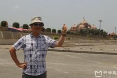 南亚印度佛教之行...著名的斯瓦米纳拉扬神庙风景随拍