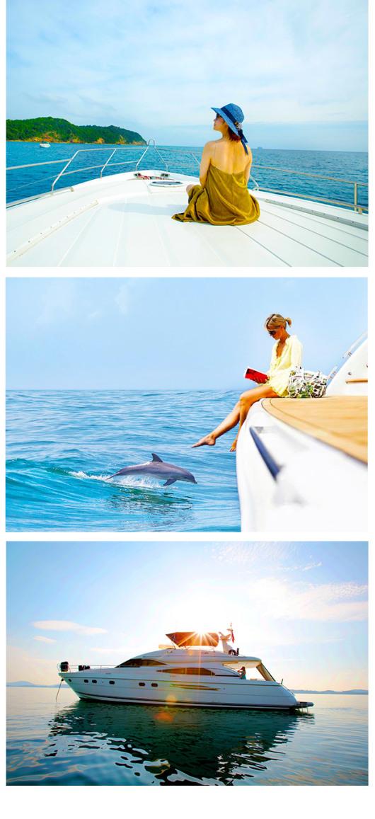 泰国普吉岛蜜月岛珊瑚岛双体帆船一日游(舒适双体帆船