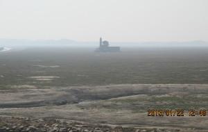 【九江图片】干枯的鄱阳湖——落星墩