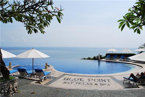 特别安排悬崖海景【蓝点无边泳池下午茶