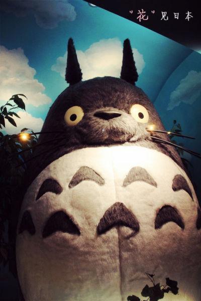 会动的日本p图_日本 游记   吉卜力美术馆…就是宫崎骏的那个…里面不能拍照…还会放