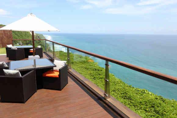 【私密奢华】巴厘岛the edge艾吉酒店悬崖海景水上spa
