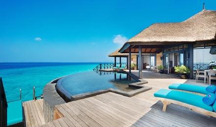 【浪漫私密沙滩婚礼】马尔代夫ja玛娜法鲁岛 沙滩婚礼