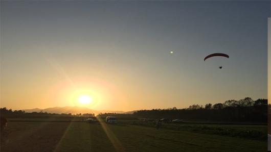 桐洲岛动力滑翔伞一日团·俯瞰富春江 绿光森林 挖野菜 骑行(国家级