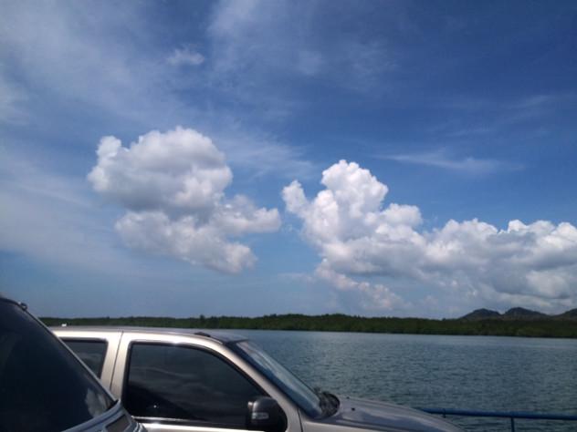 泰国的风景太美了