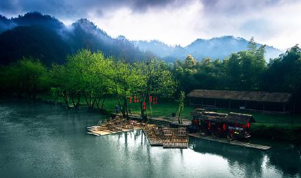 【中国至美乡村】江西上饶婺源县12景点通票 篁岭门票