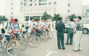【锦州图片】吉林大学-北京:骑行迎奥运  殷殷学子情