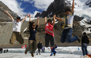 【班夫国家公园图片】群山带俺们去远方------------7月加拿大落基山脉婚礼亲子自驾游