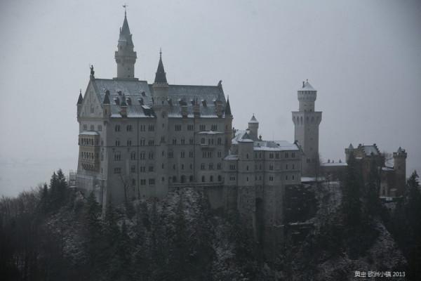 自由穿行小镇之德国富森-奥地利萨尔斯堡hallstatt-瑞士琉森茵特拉肯