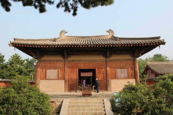 禅寺 遗存年代最早的木建筑图片