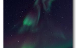 【格陵兰岛图片】格陵兰 - 寻找暗夜里的精灵