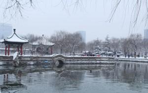 【邯郸图片】2014年的第一场雪来的晚了许多