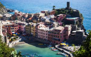 【五渔村图片】初尝欧洲bittersweet-23天在佛罗伦萨、五渔村、科莫、米兰、雅典、圣岛和法兰克福