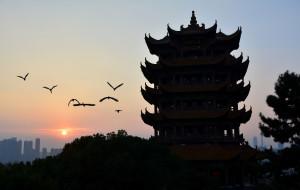 【武汉图片】楚天舒:斜阳辉映黄鹤楼