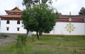 【永宁图片】永宁寺.泸沽湖湖心岛里务比寺的一观