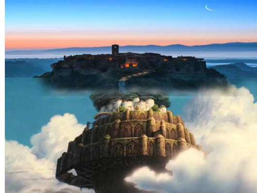 【天空之城】罗马白露里冶奥一日游(天空之城