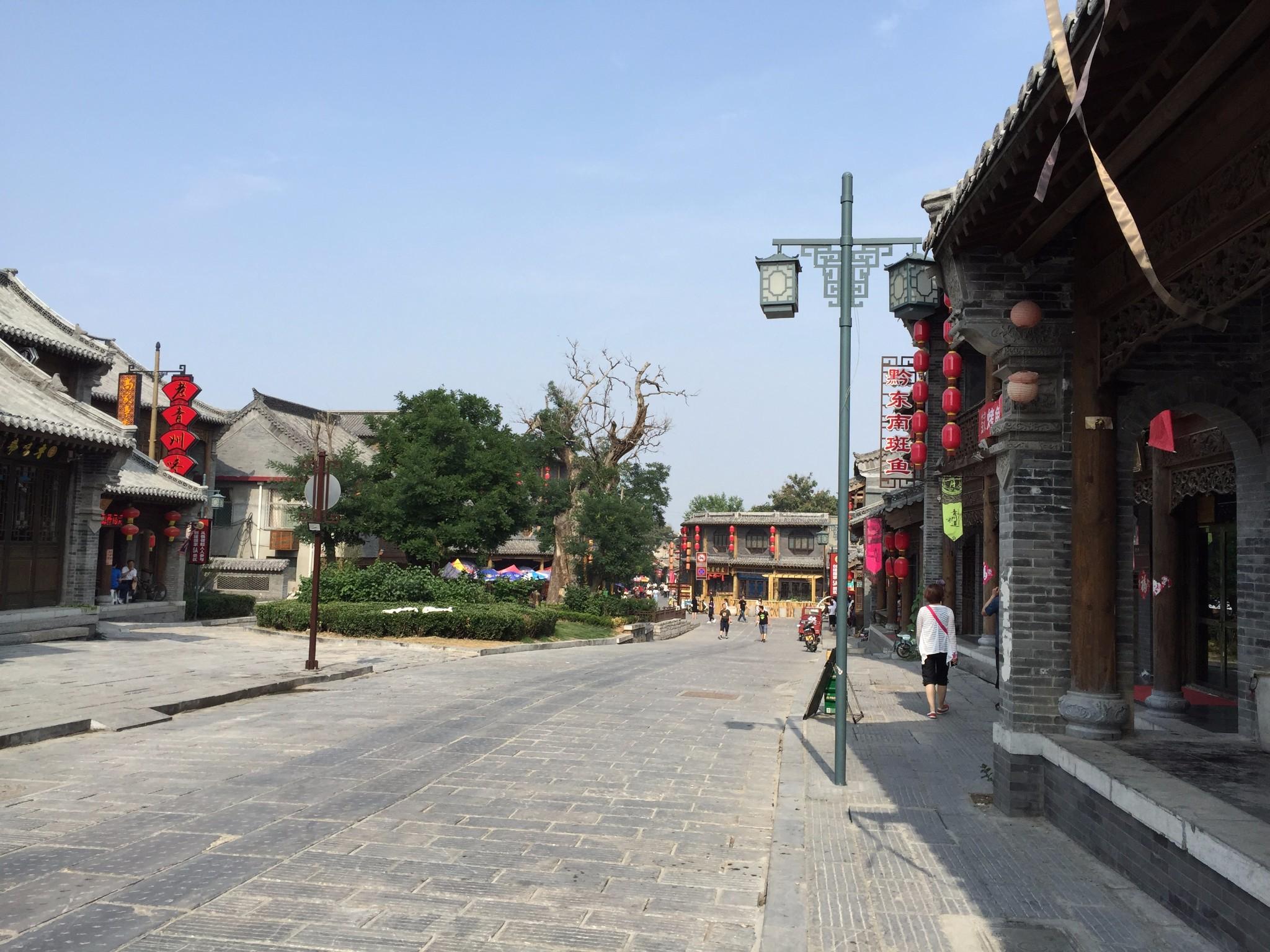 青州古城景区-青州市街景图片