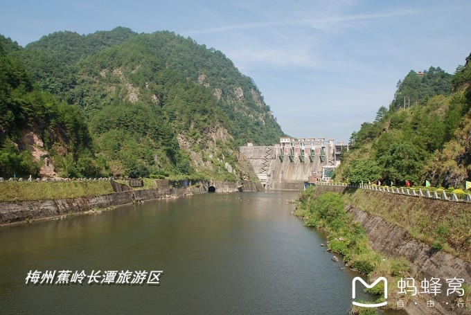 梅州蕉岭长潭旅游区,山水风光,客家民俗旅游风景区,是广东省自
