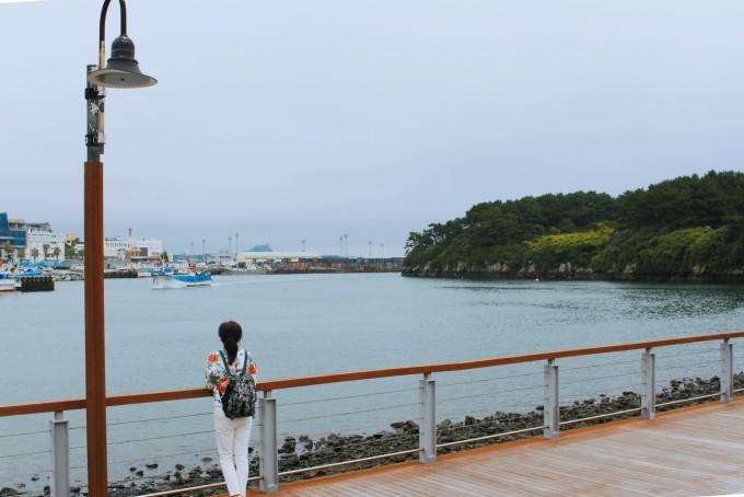 【济州岛 让我微笑】和妈妈一起 从阴雨绵绵走到天朗气清(附naver map