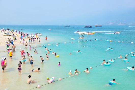 【与海豚亲密接触】三亚分界洲岛一日游