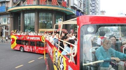 上海春秋都市观光旅游巴士路线