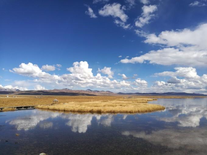 甘南花湖风景区海拔