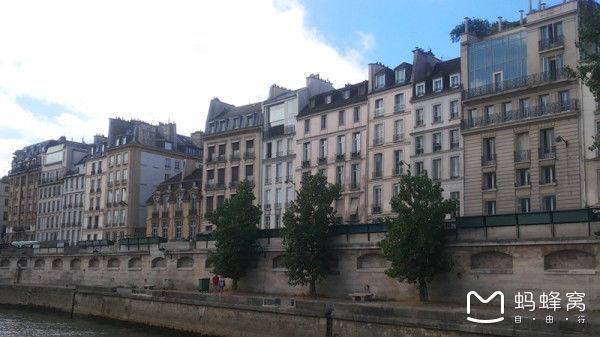 我想去看看巴黎的风景