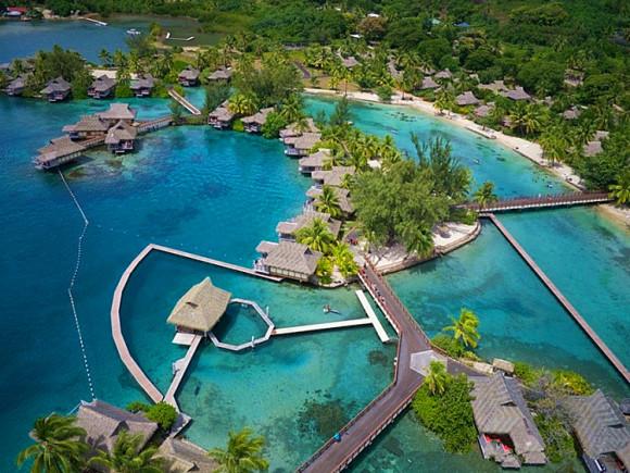 晚茉莉雅洲际度假酒店+2晚洲际莫阿娜+1晚洲际度假酒店+三岛经典体验)