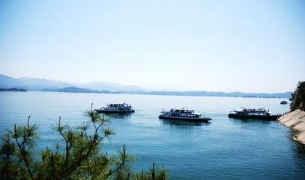 千岛湖中心湖区门票+船票+梅峰观岛往返缆车