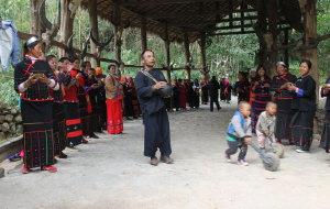 【沧源图片】彩云之南,探秘中国最后一个原始部落翁丁观通神拉木鼓