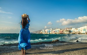 【雅典图片】蓝之极致——法意希行摄之希腊爱琴海篇(圣托里尼、米克诺斯、雅典和自拍婚纱)