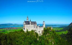 【天鹅堡图片】开启童话王国的亲子行----- 记巴黎和德国南部10日亲子自驾游部(上万文字和数百张照片)
