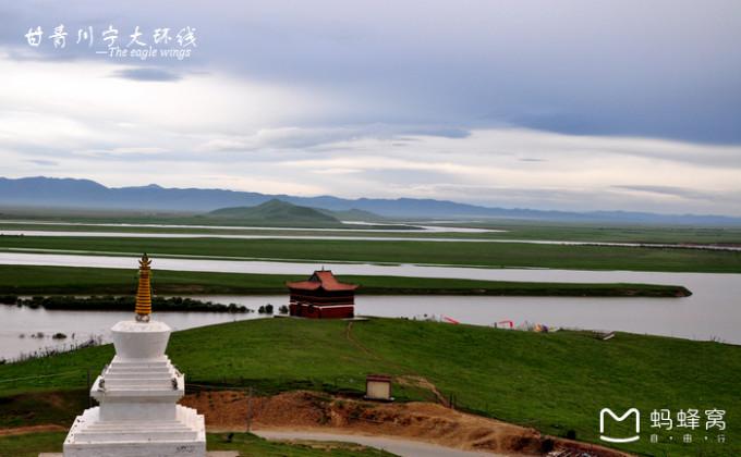 甘青川宁大环线(二)——若尔盖草原,唐克 黄河九曲第一湾,7月 年宝玉