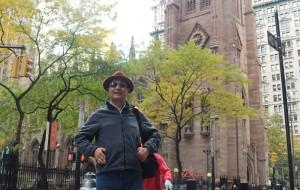 【纽约图片】北美之旅...纽约圣三一教堂周边风景随拍