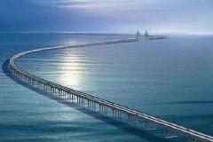 《杭州湾观桥》