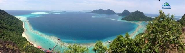 马来西亚仙本那岛屿珍珠岛