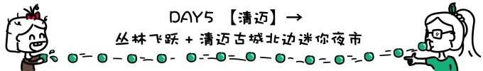 DAY5 清迈→丛林飞跃