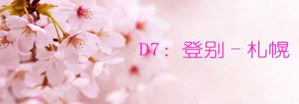 D7:登别-札幌